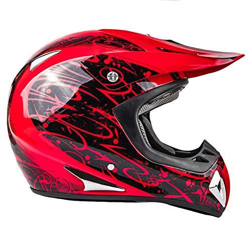 Product Image 3: Typhoon Adult ATV MX Helmet Goggles Gloves Gear Combo