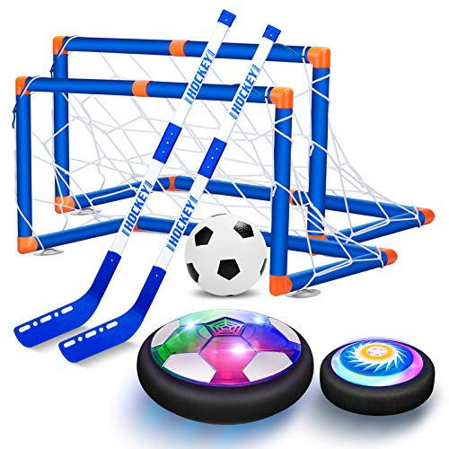 2-in-1 Hover Hockey Soccer Kids Toy