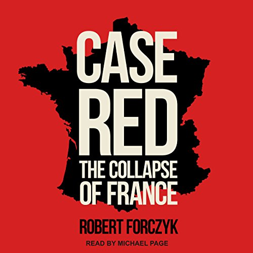 Case Red audiobook cover art