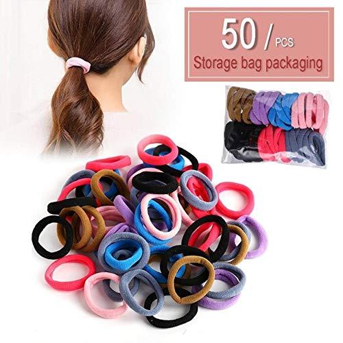 66pcs / lot decoratie touw haarbanden haaraccessoires Goma van meisjes Scrunchy haar elastiek haar tot drie centimeter,H00132