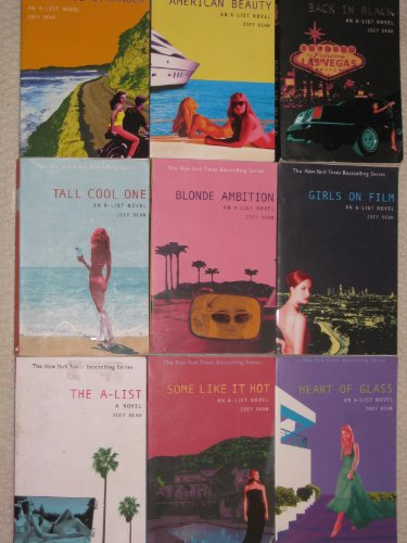 An A-List Novel Set (Complete A-List Novel Set, The A-List, Girls on Film, Blonde Amition, Tall Cool One, Back in Black, Some Like it Hot, American Beauty, Heart of Glass and Beautiful Stranger.)