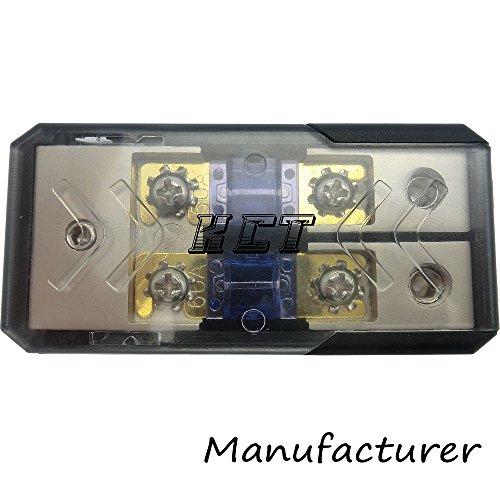 IN-LINE MINI ANL FUSE HOLDER 2x2/4GA-3x2/4GA WITH FUSE DISTRIBUTION BLOCK STEREO/AUDIO/CAR