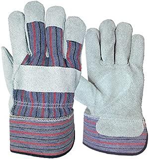 Blue Hawk Large Mens Leather Gloves