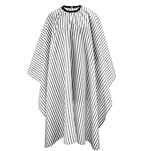 AYPOW Barber Cape Hair Salon Cape Elasticated Hairdressing Cloak Professional Hairdresser Gown Waterproof And Anti-Staining Used For Hair Washing Hair Cutting Hair Coloring