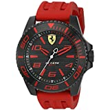 Ferrari Men's 0830308 XX KERS Analog Display Japanese Quartz Red Watch