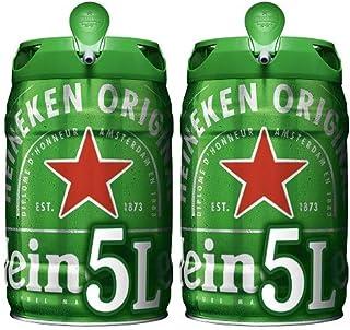 comprar comparacion Heineken Cerveza Barril - Paquete de 2 x 5L