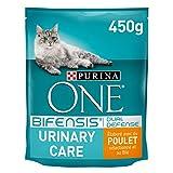 Purina One Urinary Care - au Poulet et au Blé - 450g - Croquettes pour Chat Adulte - Paquet de 10