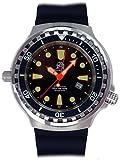 Tauchmeister Uhr mit Swiss Ronda 24 Std. GMT Werk Saphir Glas T0301