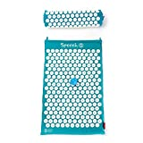 Spoonk - Back Pain and Sleep aid Relief in Coton Regular Size Acupressure mat with Bag Eco USA Foam, Pagoda...