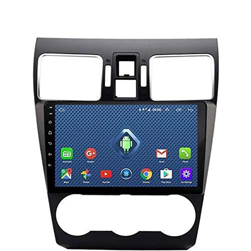 Android 8.1 Navegación Radio TV GPS pantalla táctil de 9 pulgadas para Subaru Forester 2016 – 2018, con DAB CD DVD control del volante Bluetooth USB Mirror Link,4G + WiFi:2 + 32G