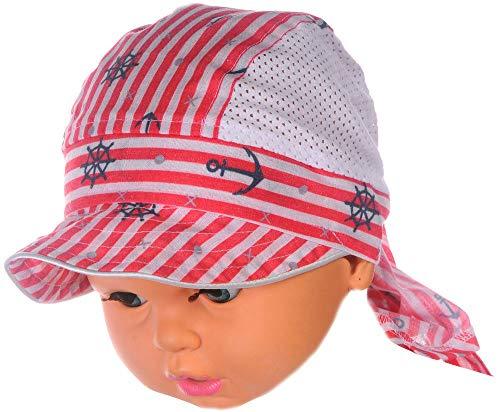 La Bortini Kopftuch Baby Kinder Sommer Mütze Mützchen Kopfbedeckung Bandana 40-54...
