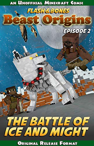 The Battle of Ice and Might: Minecraft Adventure Story (Beast Origins Book 2) (English Edition)