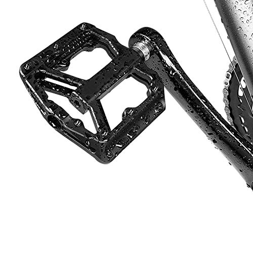 HOA Ultralight Flat MTB Pedals Nylon Bicycle Pedal BMX Mountain Bike Platform Pedals 3 Sealed Bearings Cycling Pedals for Bicycle