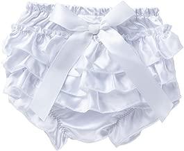 Lanhui Baby Ruffle Bloomer Nappy Infant Girl Bowknot Underwear Panty Diaper