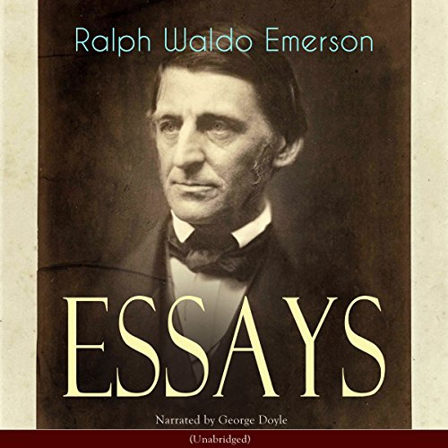Essays. The First Series audiobook cover art