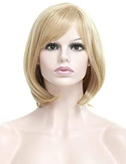 simulation women blonde wig Soft easy comb wig Breathable Adjustable net cap