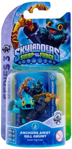 Skylanders Swap Force - Single Character - Series 3 - Anchors Away Gill Grunt