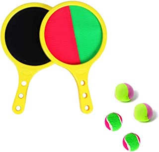 Outdoor Toys, DELFINO Toss & Catch Ball Racket Set Toys for 3-8 Year Old Boys and girls Indoor & Outdoor Toy Tennis Baseba...