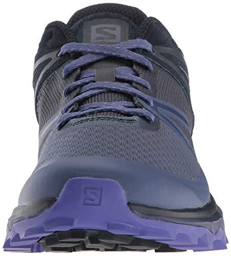 Salomon Trailster W, Zapatillas de Trail Running Mujer, Azul (Crown Blue/Navy Blazer/Purple Opulence), 38 EU