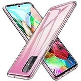 iBetter Morbido Slim TPU per Samsung Galaxy A71 Cover,Antiurto Trasparente Silicone Custodia,...