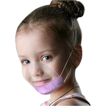 ODJOY-FAN Kinder Gesichtsvisier aus Kunststoff Schutzvisier in Transparent Face Shield f/ür Mund Nase Universal Gesichtsschutz Visier zum Schutz vor Fl/üssigkeiten