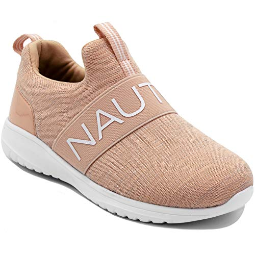 Nautica Kids Girls Youth Fashion Sneaker Running Shoes -Slip On- Little Kid/Big Kid