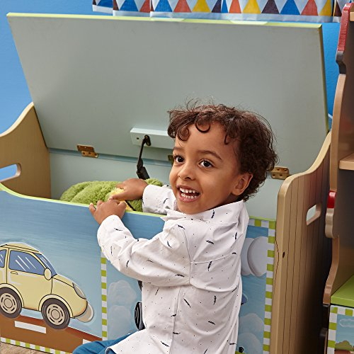 Fantasy Fields Children Transportation Kids Holz-SpielzeugkisteStorage W-9940A - 11