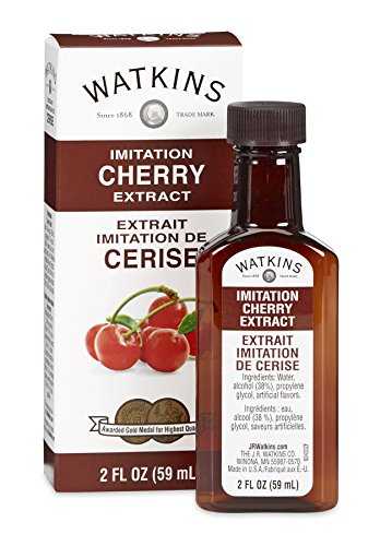 Watkins All Natural Extract, Imitation Cherry, 2 Ounce