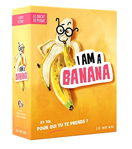 ledroitdeperdre.com- I am a Banana Blackrock Games Jeu de société, DRO032BA, Multicolore