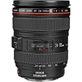 Canon EF 24-105mm f/4 L IS USM Lens for Canon EOS SLR Cameras - White Box (Bulk Packaging)