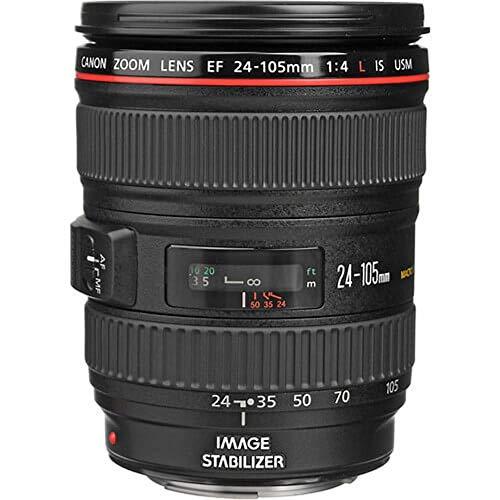 Canon 標準ズームレンズ EF24-105mm F4L IS USM フルサイズ対応