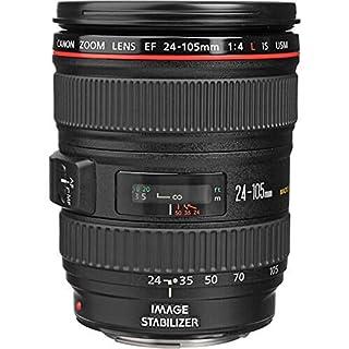 Canon EF 24-105mm f/4.0 L IS USM - Objetivo para Canon (Distancia Focal 24-105mm, Apertura f/4-22, Zoom óptico 4.3X,estabilizador, diámetro: 77mm) Negro (B000B84KAW) | Amazon price tracker / tracking, Amazon price history charts, Amazon price watches, Amazon price drop alerts