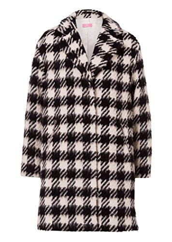 BASLER 163085 Damen Mantel Jacke Gr: 42 schwarz-weiß A-Ware