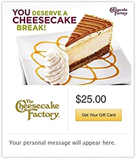 Best cheesecake factory e gift card Reviews