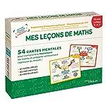 Mes leçons de maths - niveau collège - 54 cartes mentales pour comprendre facilement les maths et préparer sereinement l'épreuve du brevet ! de Stéphanie Eleaume Lachaud