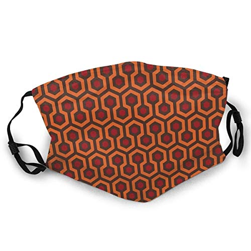 NA Andrews-MT - Máscara facial cómoda REDRUM Overlook Hotel Carpet Stephen King's The Shining Sun-Proof Bandana para la pesca