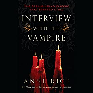 Interview with the Vampire audiobook cover art