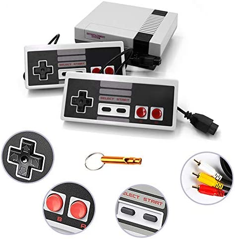 LONSUN Classic Retro Game Console with 620 Games Childhood Game Console Game Player with 2 NES product image