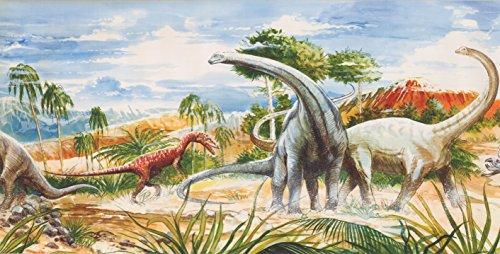 Tapetenbordüre Dinosaurier 11361 BE 12