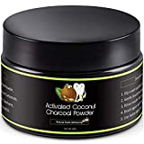 Activated Charcoal Natural Teeth Whitening Powder Kit...