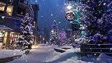 YUBYUB Puzzle 1000 Piezas de Madera del Rompecabezas de Alta dificultad del for Adultos Juguetes de la descompresión Inicio Puzzle Regalos año Nuevo Invierno Calle nieve/75 * 50 CM