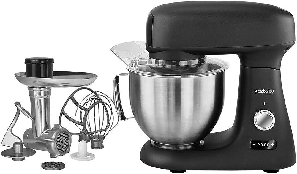 Brabantia, robot da cucina, impastatrice, mixer D3-AT