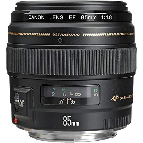 Canon EF 85mm f/1.8 USM Medium Telephoto Lens for Canon SLR Cameras - Fixed (Renewed)