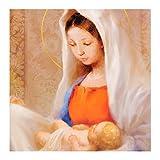 Hallmark - Tarjetas de Navidad (10 unidades), diseño de escena religiosa