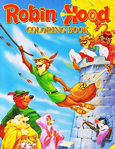 Robin Hood Coloring Book: NEW Coloring Book with 50+ LARGE COLORING PAGES and EXCLUSIVE ILLUSTRATIONS
