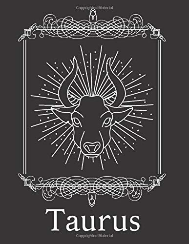 Taurus: Taurus Zodiac Sign Notebook with 2020 Moon Phases Calendar - Dot Grid Composition Notebook, Sketchbook, Journal, Diary - 200 Pages/100 Sheets, 8.5x11 inches - Witch for Witches
