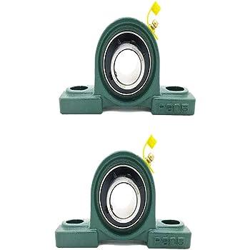 "Premium Solid Base UCP205-16 Triple Seals ABEC3 Pillow Block Bearings 1/"" bore UC"