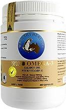 Wealthy Health Wild Omega 3 Salmon Oil With Vitamin E 400 capsules