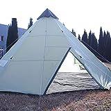 Waterproof Indian 10+Person Family Camping Beach Yard Canopy Awning Gazebo Glamping Yurt Tent