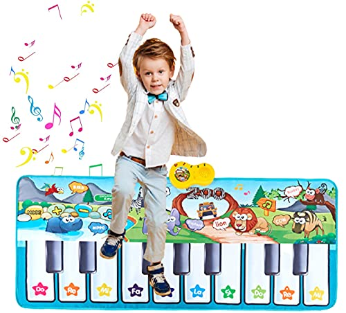 LEVONSTY Kids Music Mat , Piano Dance Mat Upgraded 4 Modes, Children...